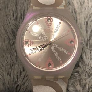 Swatch Watch - Silicone Band